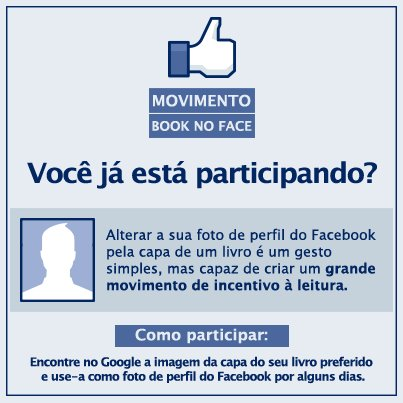 Movimento Book no Face